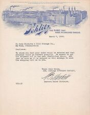 SCHLITZ DU BOIS PRODUCTS AND COLD STORAGE CO. PA, LETTER, SIGNED, MARCH 7 1928