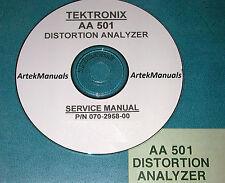 Tektronix Aa501 Instruction Manual Service Amp Ops