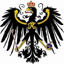 Aufkleber Königreich Preußen Preussen Adler Kontur Autoaufkleber Sticker