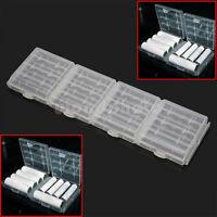 4x Batteriebox Aufbewahrungsbox Akkubox für Mignon AA Micro AAA Akkus Batterien