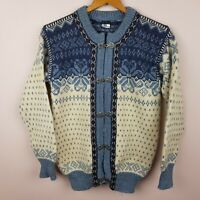 Dale of Norway Cardigan Size XS 38 Pure New Wool