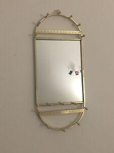 Hanging Mirror And Jewelry Organizer