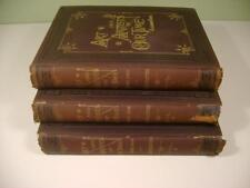 1888 Antique Set  3Books Art And Artists of Our Time Clarence Cook Illustrated