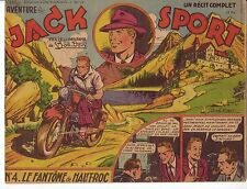 Artima une aventure ..n° 4 JACK SPORT Bob Dan