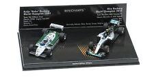 1:43rd Keke & Nico Rosberg 2 Car Set