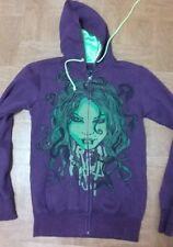 Mens Fox Iron Fist graphice zip up hoodie size small