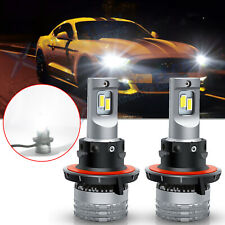 For Ford Mustang GT 2005 - 2012 LED Headlight High Low Beam Kit 6500K Bulbs 130W