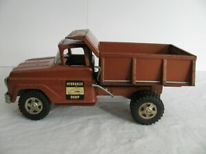 Vintage 1961 Tonka Toys Gold Hydraulic Dump Truck #420 VG