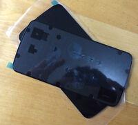 Black Battery Cover Back Rear Cover Glass Replacment For LG E960 Google Nexus 4