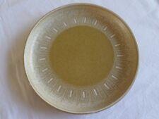 """Denby Ode Tea Side Bread & Butter Plate 6.5"""" Brown Mustard Pattern"""