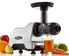 Omega Juicers CNC80S 200-Watt Compact Slow Speed Multi-Purpose Juicer, Silver