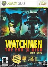WATCHMEN THE END IS NIGH PARTS 1 AND 2 for Xbox 360 - with box & manual