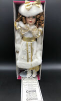 "Camelot Collection Porcelain Dolls ""Crystal"" 16"" inch tall. Porcelain Doll"