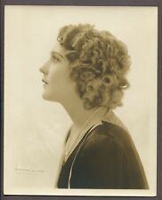Mary Pickford Portrait by Campbell Studios 1925 DBL WT Original Photo J4797