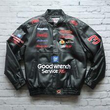 Vintage Dale Earnhardt Leather Cafe Racer Racing Jacket Chase Authentics Nascar