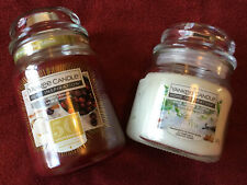 Yankee Candle Jar Candles X 2 New