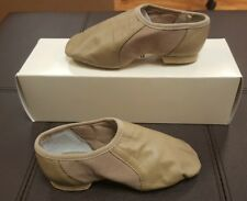 Bloch Jazz Shoes Tan Taupe TPE Slip-On Split Sole Child 13