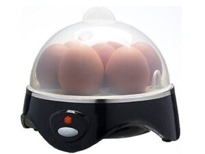 Egg Boiler Cooker Poacher Steamer Electric Boiled 7 Eggs Omelette Maker