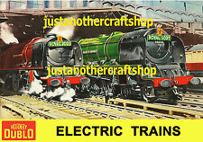Hornby Dublo 1959 Royal Scot A3 Large Size Poster Advert Shop Display Sign POS