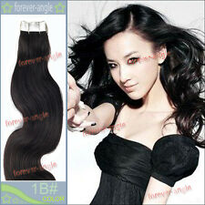 Body Wavy 3M Tape In Pu Skin Weft Remy Human Hair Extensions 20Inch 20Pcs&40Pcs