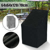 Waterproof Chair Cover High Back Outdoor Patio Garden Furniture Protection Case