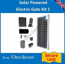 Solar Powered ELECTRONIC GATE LOCK & Wireless intercom con Tastierino Digitale KIT