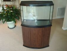 New listing Aquarium Fish Tank Bow Front 36 Gallon