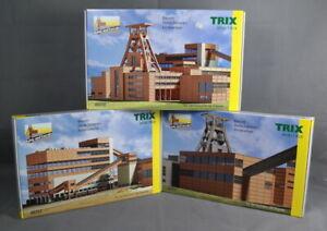 TRIX Minitrix 66310,66311,66312 [N,3 Bausätze, Lasercut] Zeche Zollverein kompl.