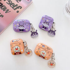 Earphones Case Plastic Cartoon Cute Anpanman Protector Cover For AirPods Pro 1/2