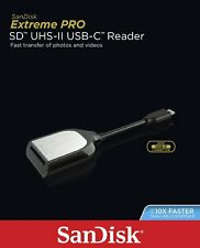SanDisk Extreme PRO USB-C Type-C UHS-II SD HC Card Reader for MAC Macbook