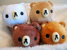 "Rilakkuma--3"" Tall Rilakkuma Bear Toy Plush (Set of 4 Bears)<Free Shipping>"