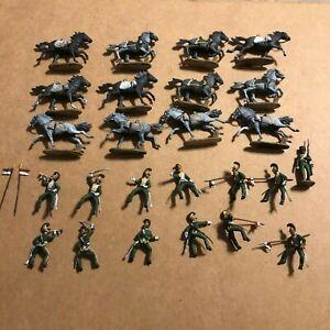 1/72 Waterloo1815, Set 054, 12 Painted Napoleonic French Line Lancers