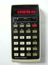VINTAGE QUALITRON MODEL-1416   VINTAGE ANNI 70 OLD CALCULATOR GOOD CONDICTION