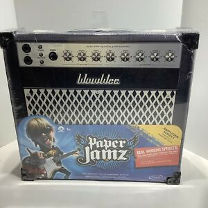 WowWee PAPER JAMZ Portable Paper Amplifier Series 1 Case NEW SEALED W/Cable