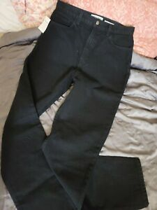 American Apparel High Waisted Jeans Black Size 31 Womens