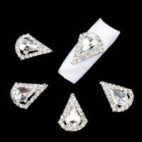 10pcs 3D Nail Art Tips Decoration Glitter Rhinestone Alloy Jewelry Charm Set