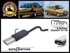 SILENCIEUX POT D'ECHAPPEMENT RENAULT CLIO II 1998-2002 2003 2004 2005 TIP 145x75