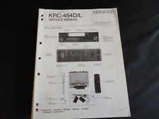ORIGINALI service manual KENWOOD krc-454d/l