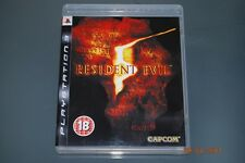 Resident Evil 5 PS3 Playstation 3 **FREE UK POSTAGE**