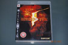Resident Evil 5 PS3 Playstation 3 ** GRATUITE RU LIVRAISON **
