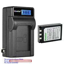 Kastar Battery LCD Wall Charger for Olympus Li-10B Li-12B & Camedia C-470 Zoom