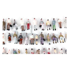 100 pcs. Z Scale People 10mm Figures Z Gauge standing Passengers 1:220 Scale