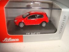 Schuco 28006 VW Volkswagen Golf V 5 GTI Rouge Red Limited Edition 1.87