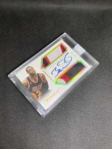 2013-14 PANINI flawless  greats DWYANE WADE patch auto 10/10 NBA CARD