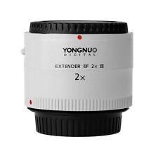 Yongnuo EF Extender 2.0X III Auto Focus Teleconverter For Canon EF EOS Lens