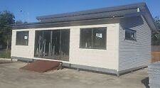 The Seascape 60 2 Bedroom Granny Flat Kit on Galvanised Chassis