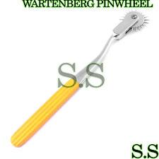 5 Neurological WARTENBERG PINWHEEL/Pin Wheel Yellow Color