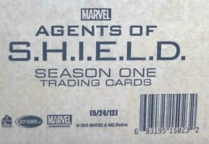 AGENTS of SHIELD Season 1 Factory Sealed Case - 12 Boxes (Autographs & Costumes)