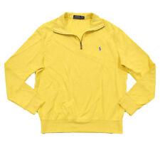 Polo Ralph Lauren Mens Sweater Half Zip Long Sleeve Mock Neck Jacket Pony Logo