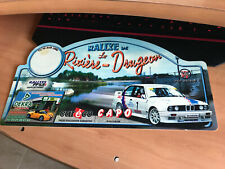 Placa Rally Rallye PVC Plastico Plaque Platte Decoracion Bmw M3